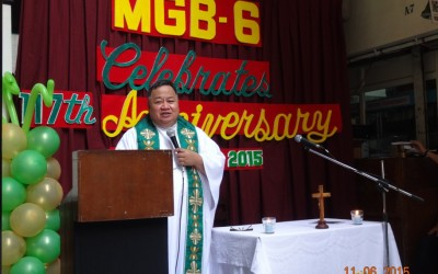 Rev. Fr. Joel Eslabra, Chaplain of West Visayas State University Hospital