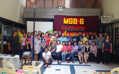 MGB-6 personnel with Fr. Joel Eslabra