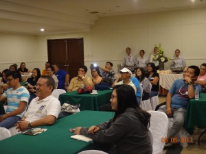 RD Leo Van V. Juguan with MGB RO 6 employees during the Welness seminar.